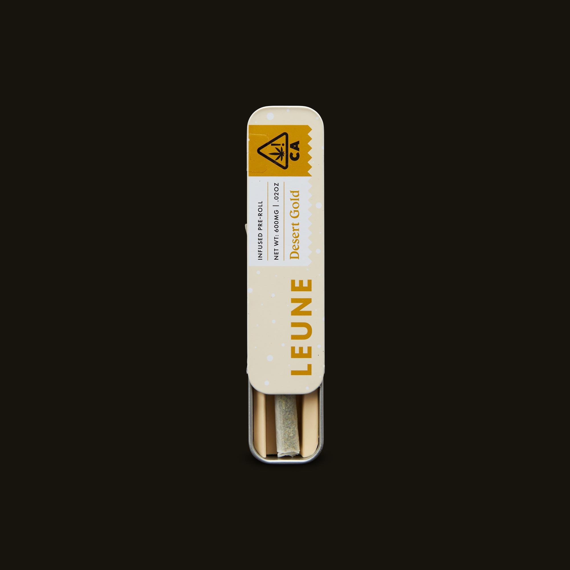 LEUNE Desert Gold Pre-Roll Open Packaging