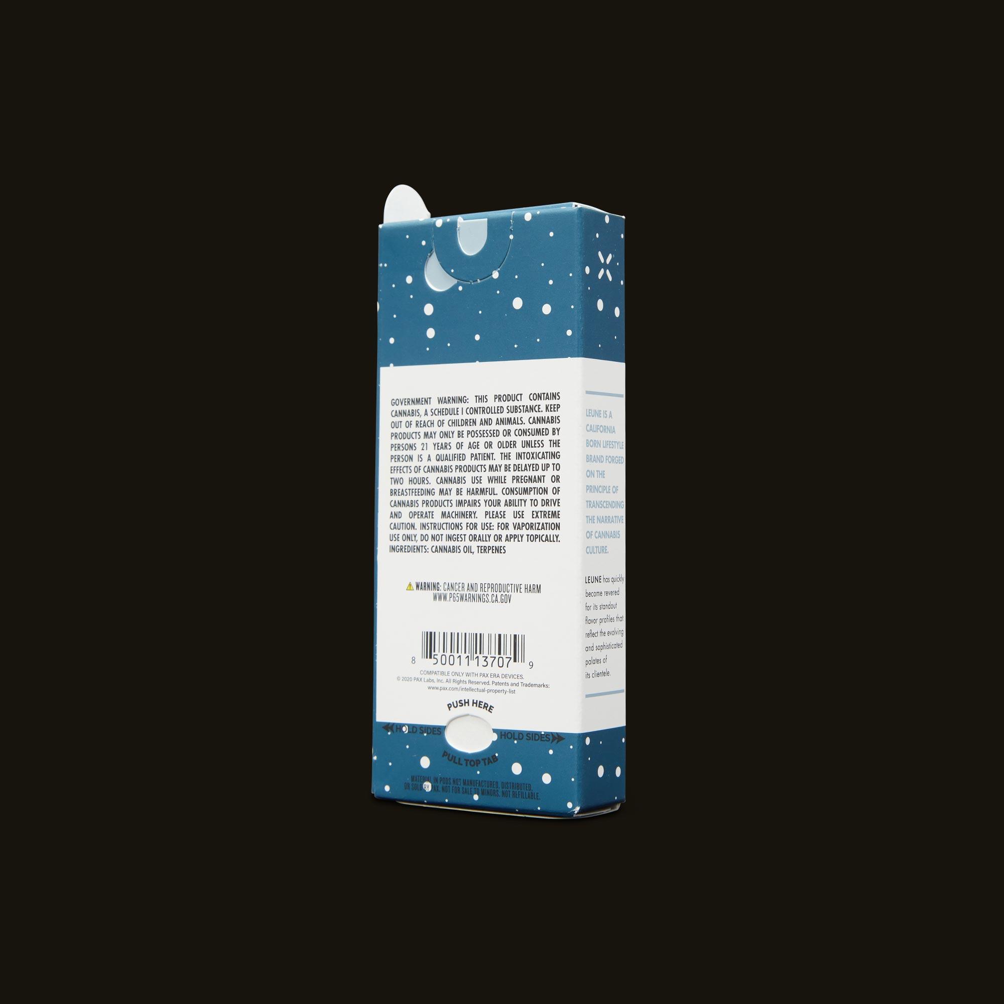 LEUNE Cloud Berry PAX Era Pod Back Packaging