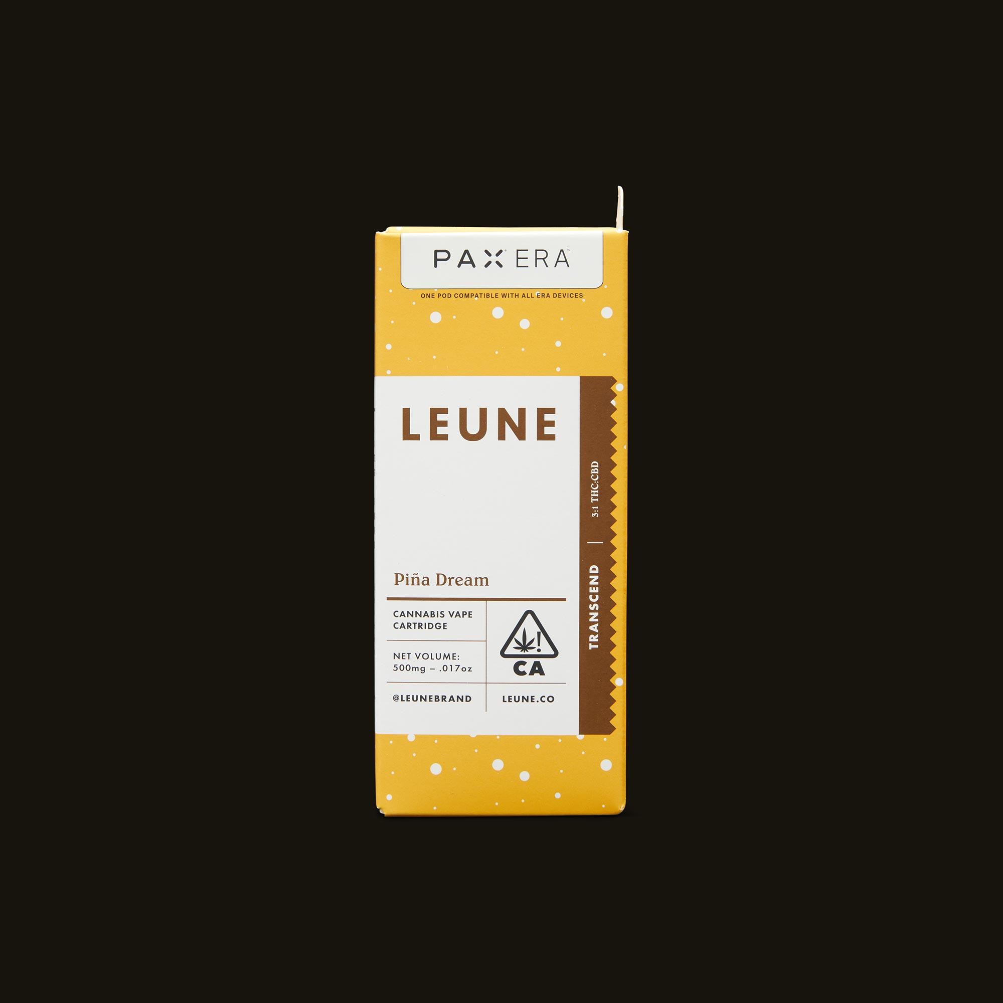 LEUNE Piña Dream PAX Era Pod Front Packaging