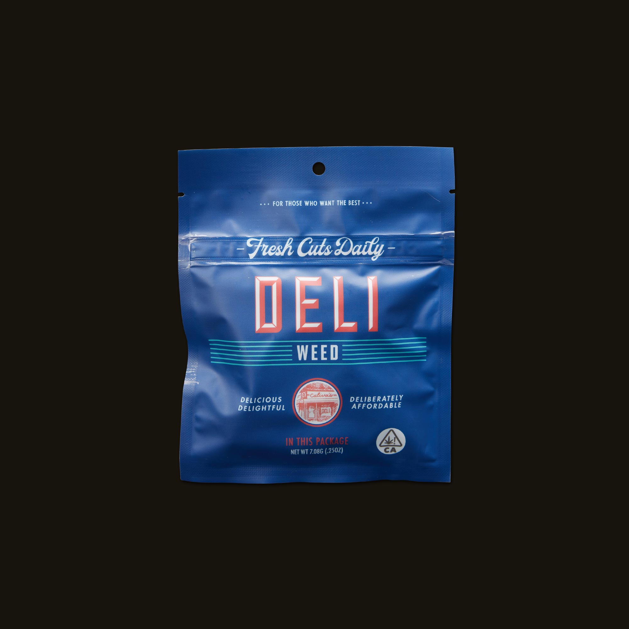 Deli Tangie Front Packaging
