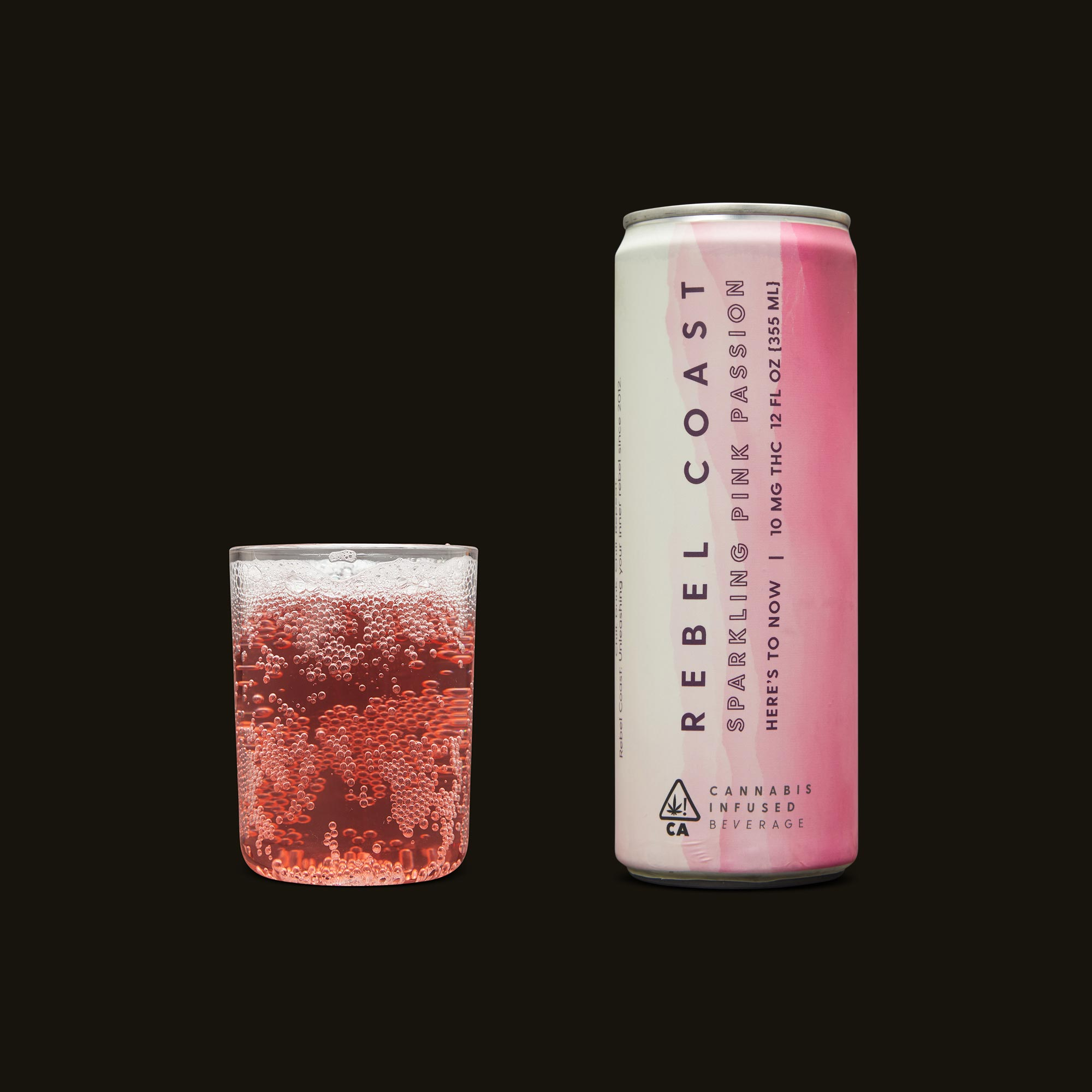 Rebel Coast Sparkling Pink Passion