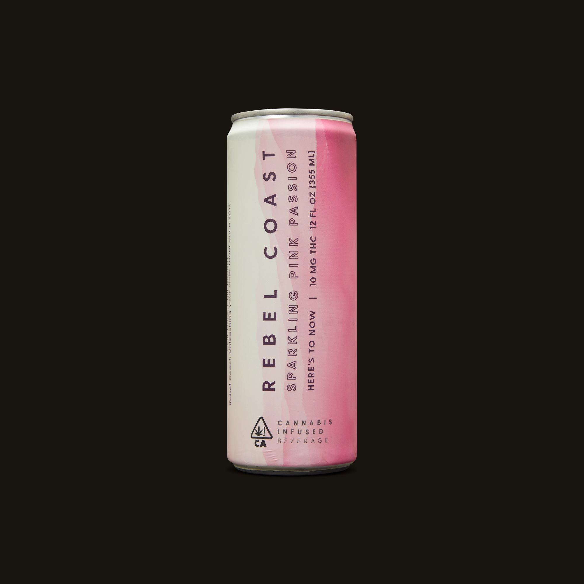 Rebel Coast Sparkling Pink Passion Front Can