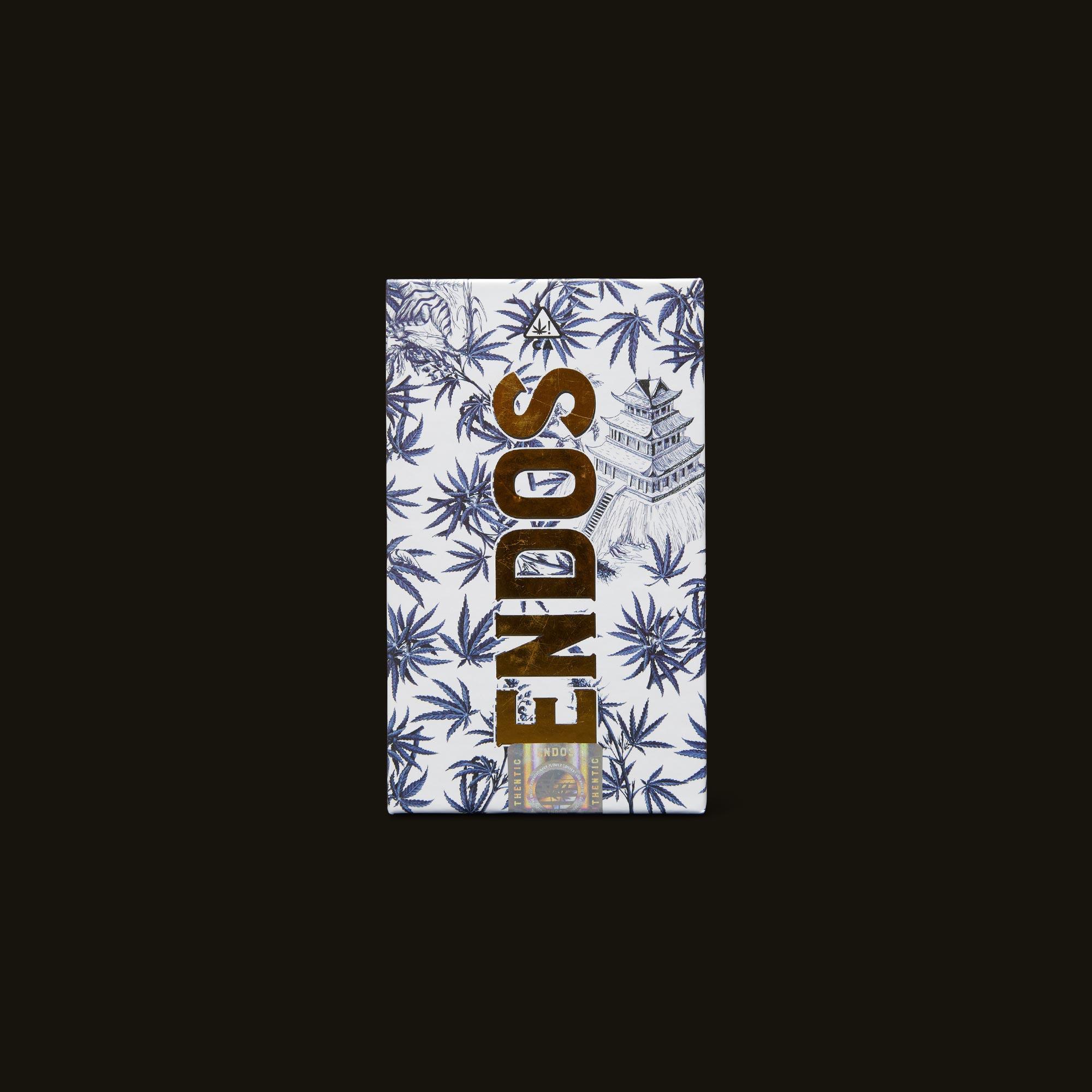 ENDOS Tahoe OG Pre-Roll 5-Pack Front Packaging