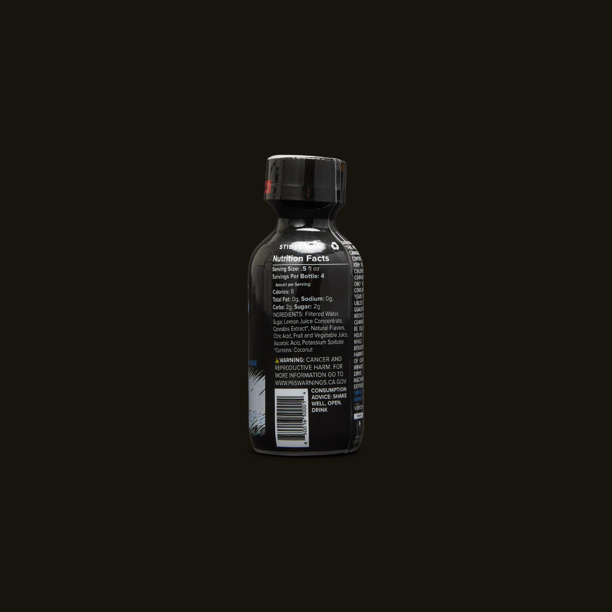 St Ides Sour Diesel Infused Shot Ingredients