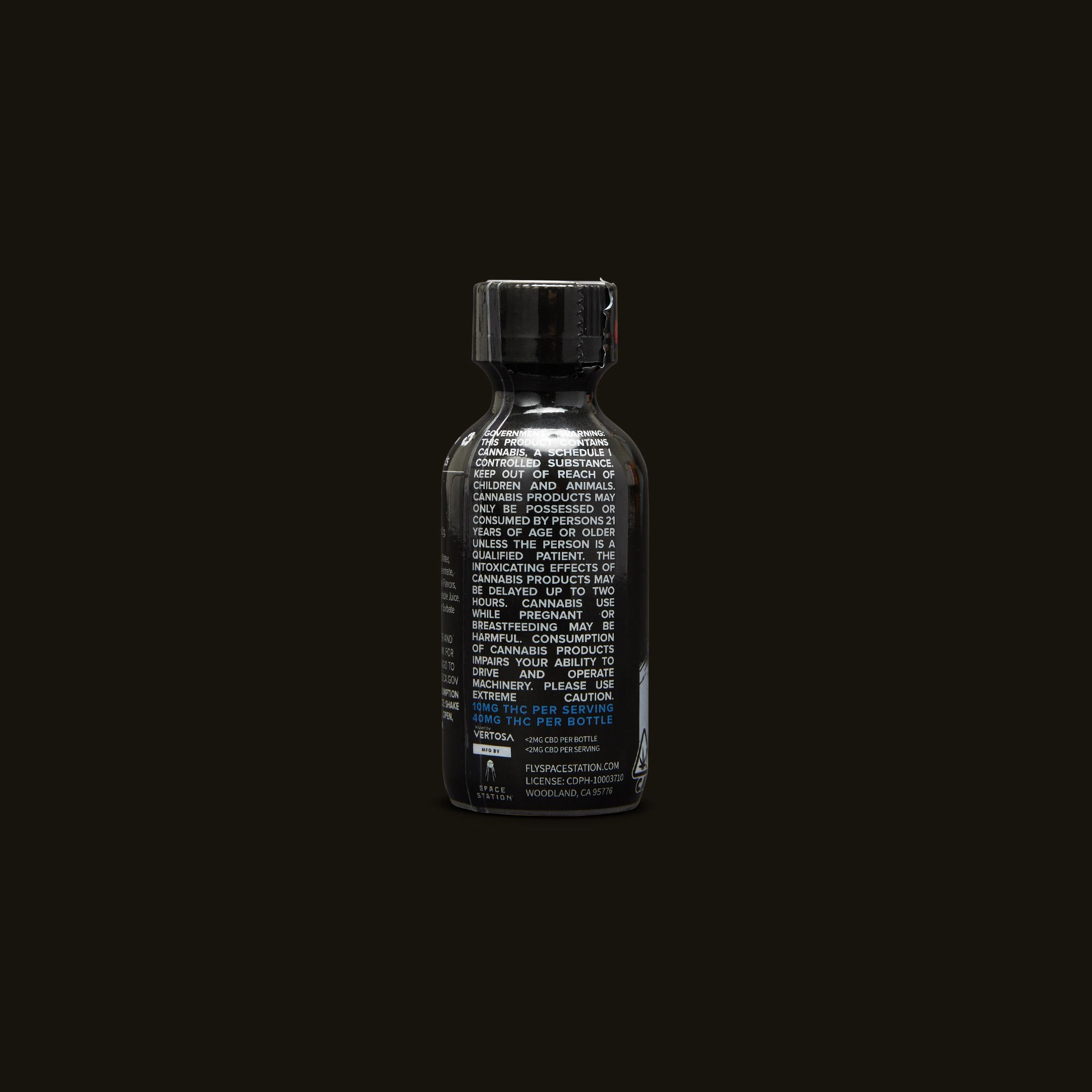 St Ides Sour Diesel Infused Shot Back Packaging
