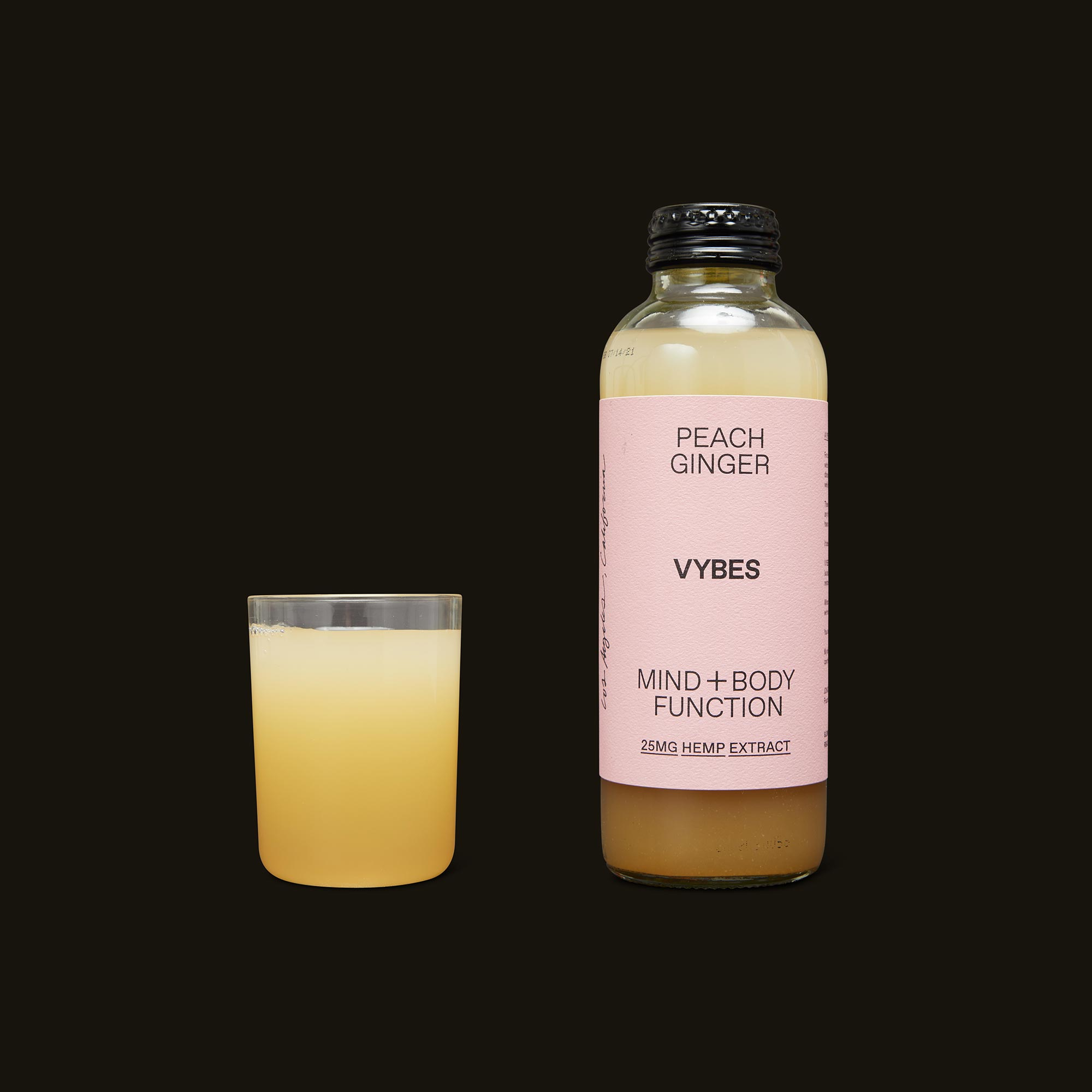 VYBES Peach Ginger