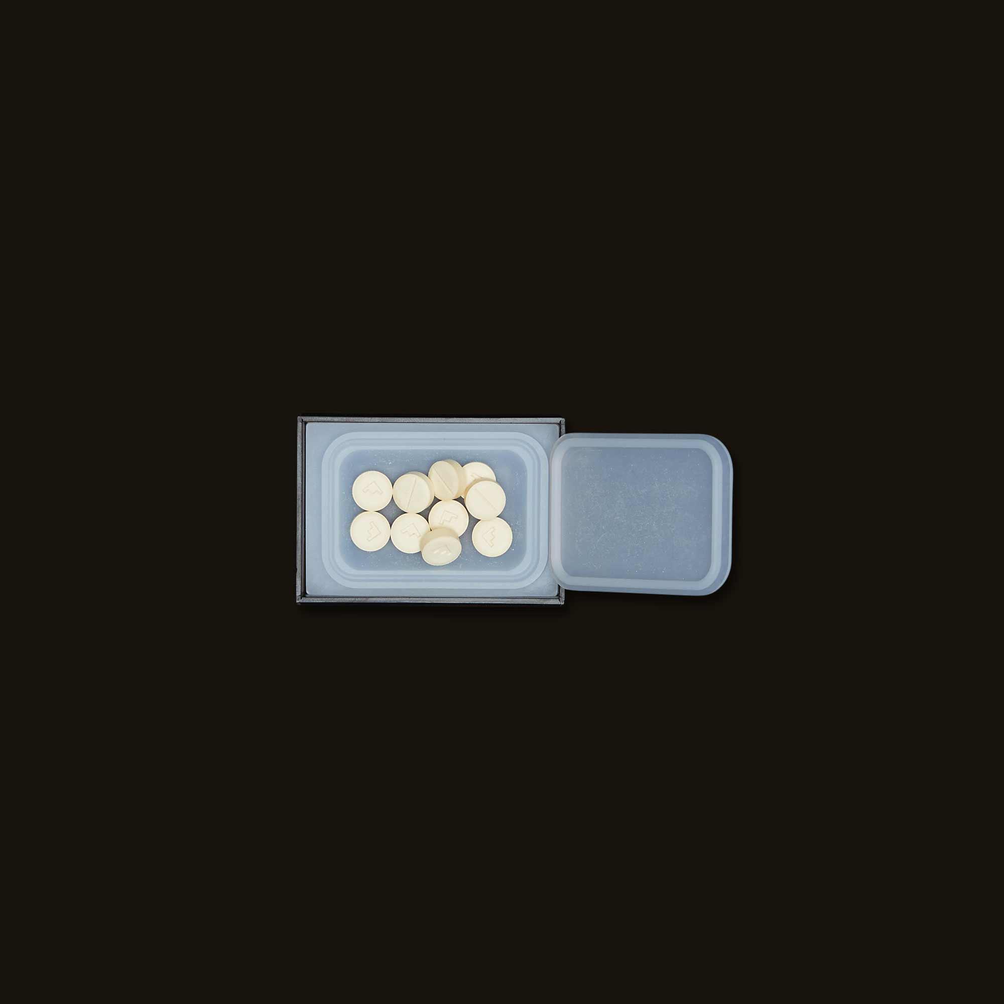 Box of protab hybrid pills by level