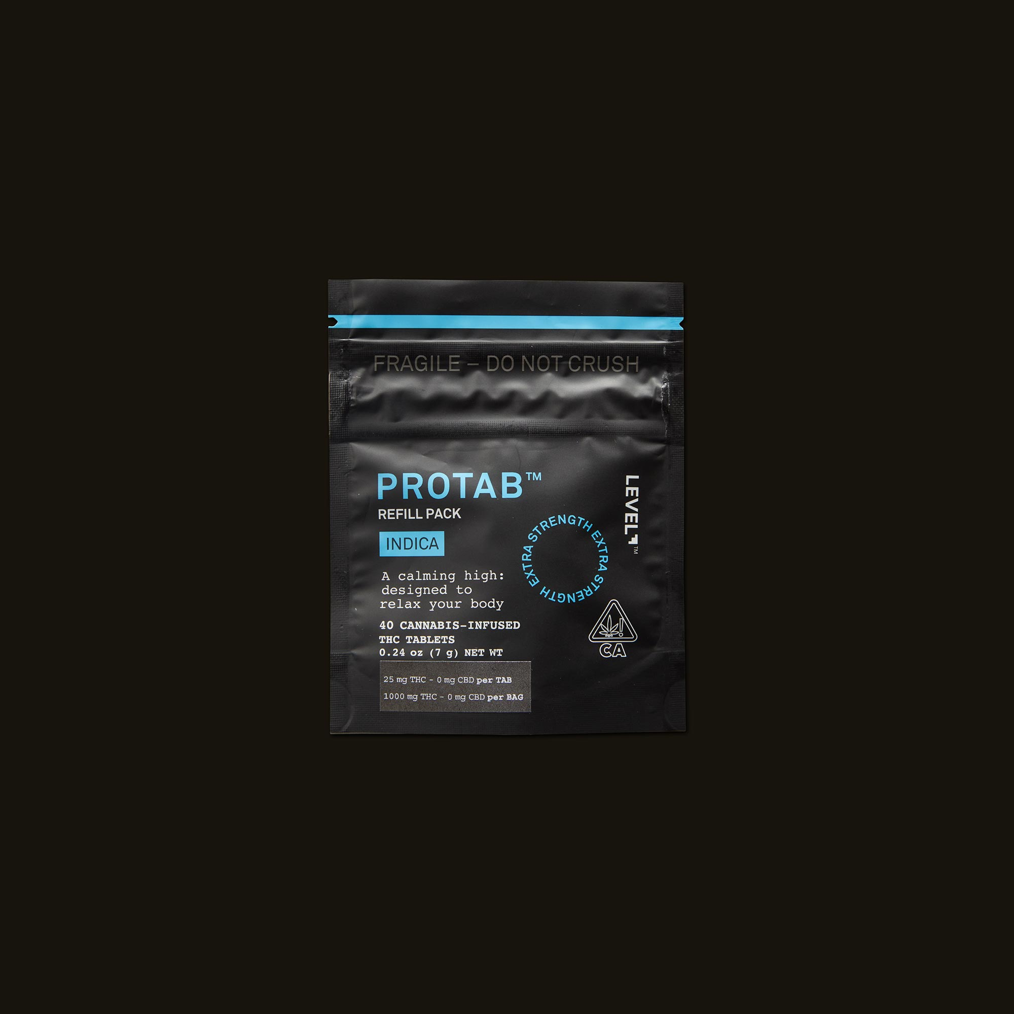 LEVEL Indica Protab Refill Pack Front