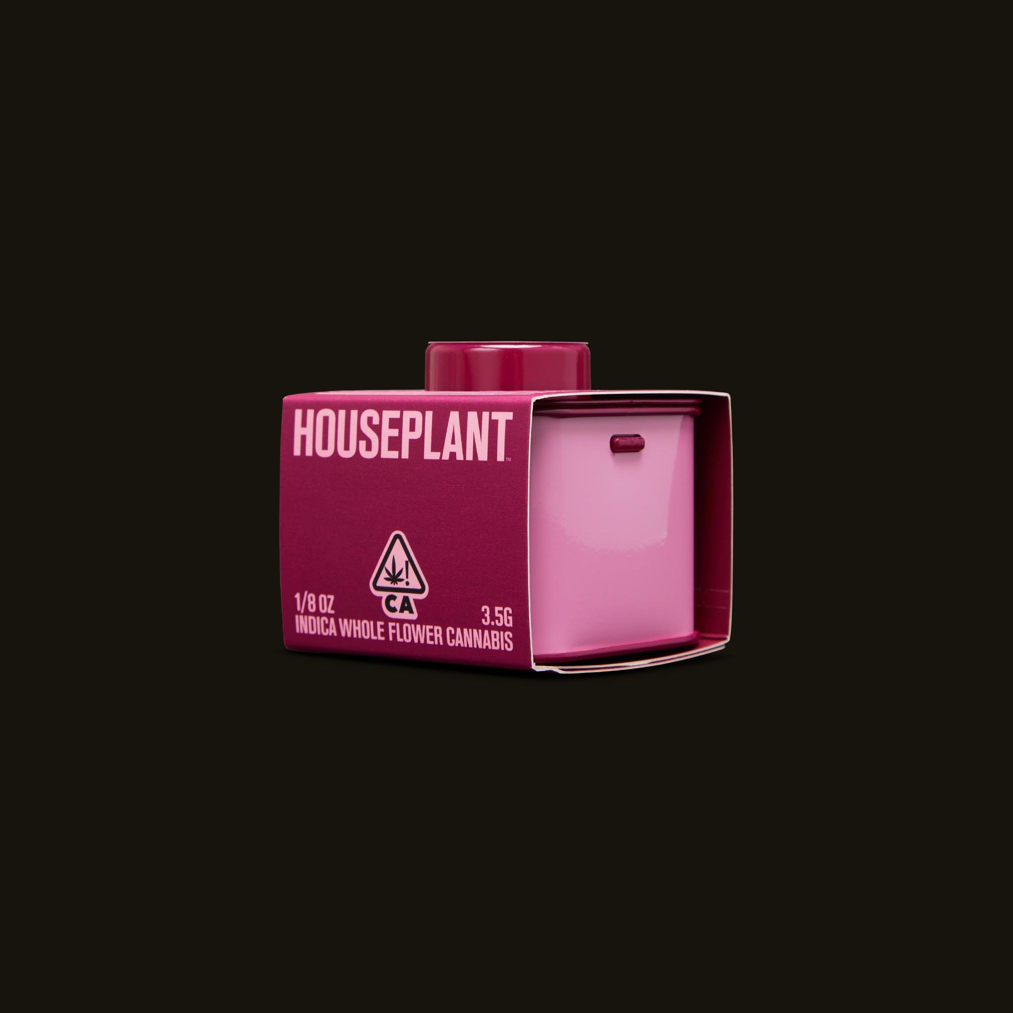 Houseplant Pink Moon Side Packaging