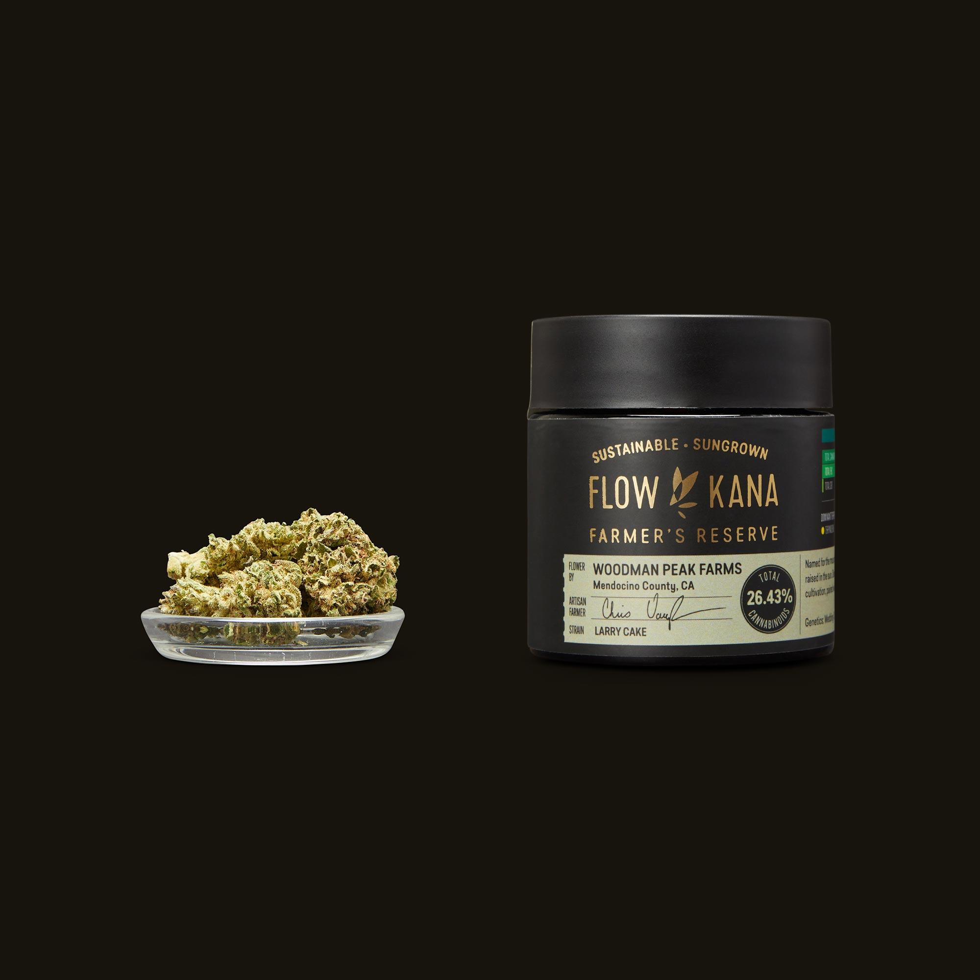 Flow Kana Larry Cake