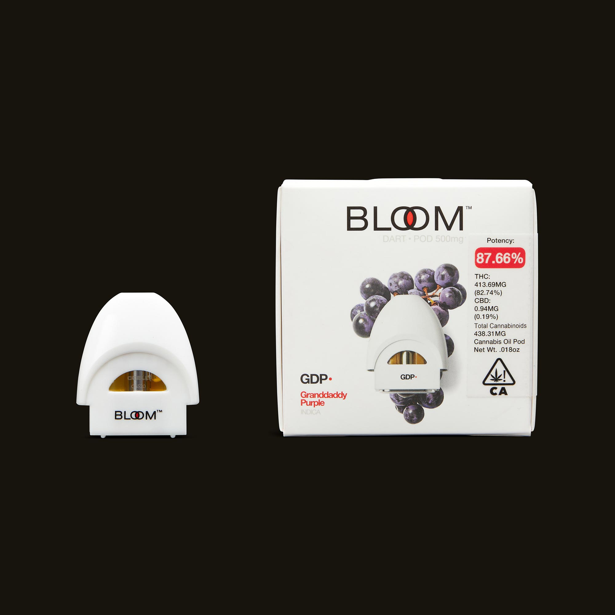 Bloom Brands Granddaddy Purple Dart Pod