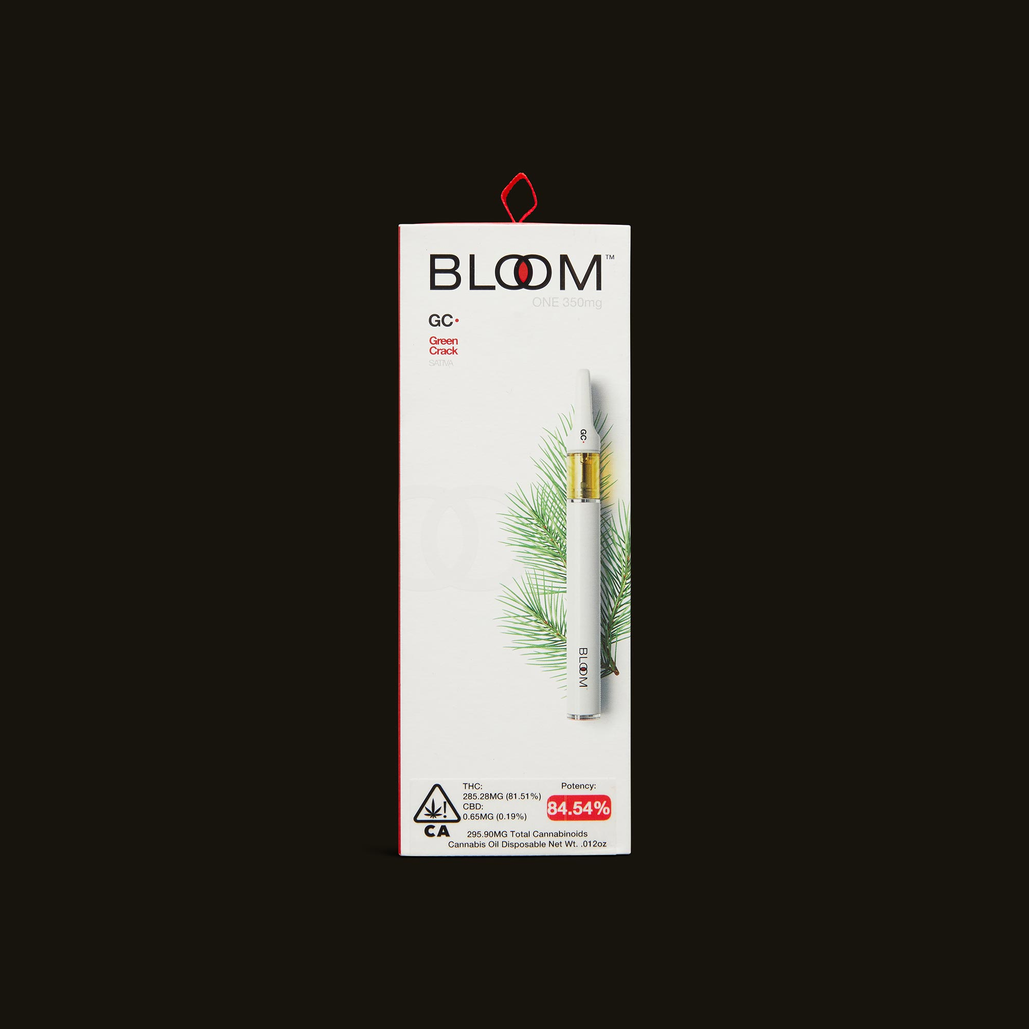Green Crack Bloom One - 350mg disposable pen