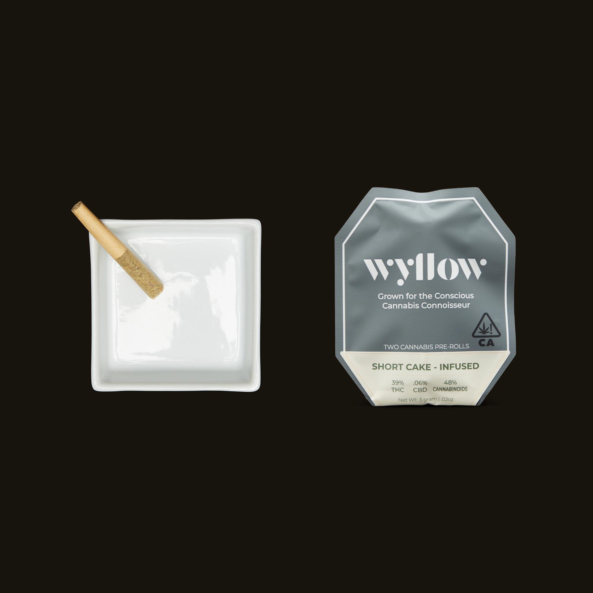 Wyllow Short Cake Infused Pre-Rolls