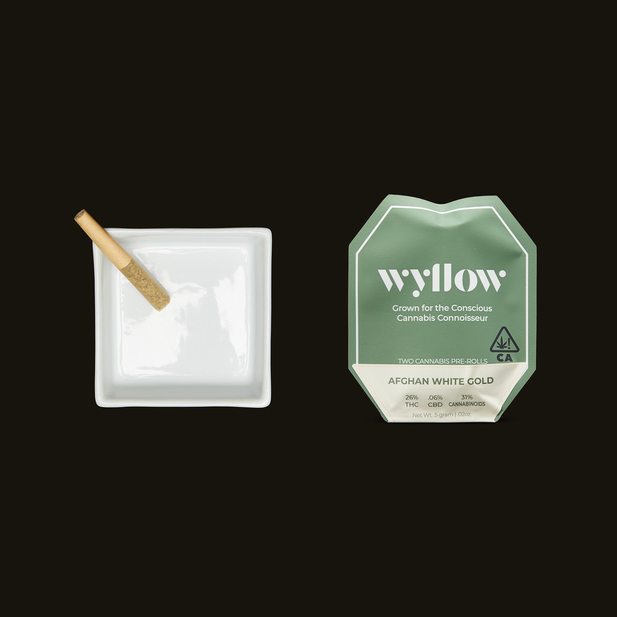Wyllow Afghan White Gold Pre-Rolls